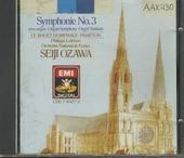 """Symphony no.3 in c minor, op.78 (""""Organ"""")"""