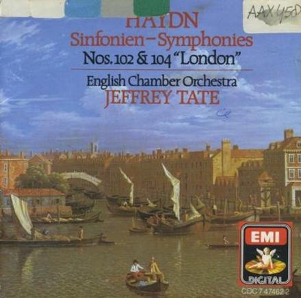 Symphony no.102 in B flat major