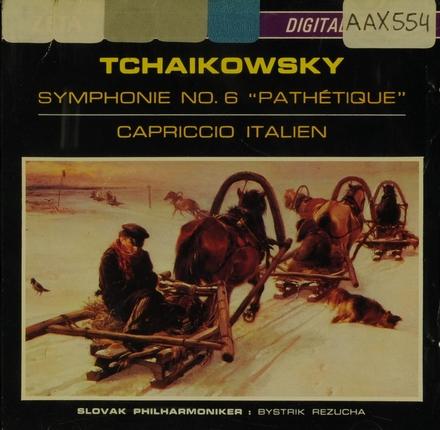 """Symphonie no.6 """"Pathétique"""""""