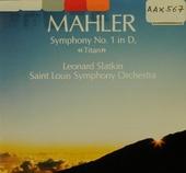 """Symphony no.1 in D, """"Titan"""""""