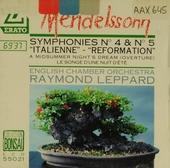 "Symphonie no.4 ""Italienne"""