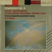 "Symphony no. 9 in d minor, op. 125 ""Choral"""