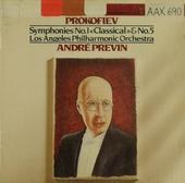 """Symphony no.1 in D, op.25 """"Classical symphony"""""""