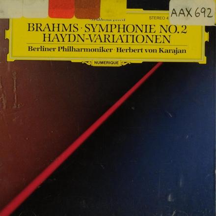 Symphonie no.2 op.73