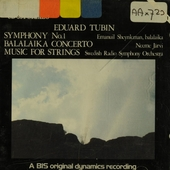 Symphony no 1 in c minor