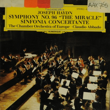 "Symphonie Hob.I: 96 ""The Miracle"""
