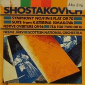 Symphony no.9 in E flat op.70