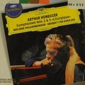 """Symphonie no. 2 & no. 3 """"Liturgique"""""""