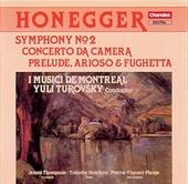 Concerto da camera for flute, cor anglais & string orchestra
