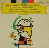 Symphonie classique op.25 ; Simple symphony ; Symfonie no. 1
