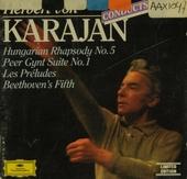 Karajan conducts