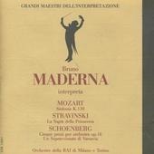 Bruno Maderna interpreta. vol.1