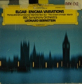 """Variations on an original theme for orchestra op.36 """"Enigma-variations"""""""