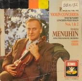 Violin concerto no.1 in D, op.6