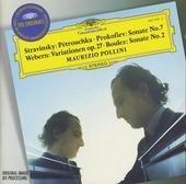 Pétrouchka ; Klaviersonate no.7 op83 ; Variationen für Klavier op27 ; Deuxième sonate pour piano