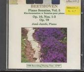 Piano sonatas, vol.5. vol.5