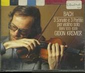 3 sonate e 3 partite per violino solo, BWV 1001-1006