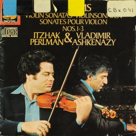 Violin sonatas nos.1-3