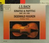 Drei Sonaten und drei Partiten für Violine solo