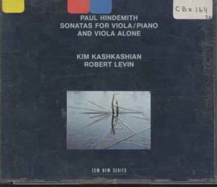 Sonatas for viola & piano and viola alone