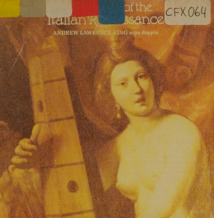 Harp music of the italian renaissance
