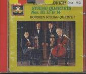 String quartets nos.10, 13 & 14