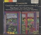 Concert pour piano, violon et quatuor à cordes op.21