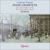 Piano quartet no.1 in c minor op.15