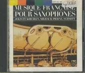 Musique francaise pour saxophones