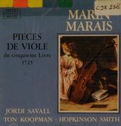 Pieces de viole du livre V