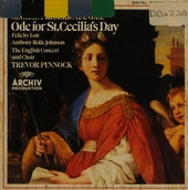 Ode for St.Cecilia's day