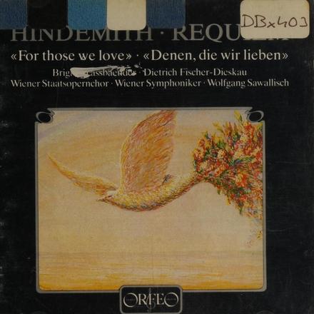 """Ein Requiem """"Denen, die wir lieben"""""""