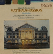Matthäus-Passion, BWV 244