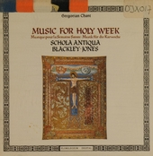 Music for Holy Week : in proportional rhythm