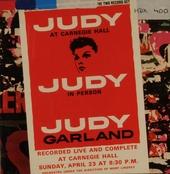 Judy at Carnegie Hall N.Y. 23-4-61