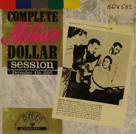 Million Dollar Quartet : the legendary session