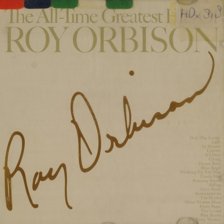 The all-time greatest hit of Roy Orbison