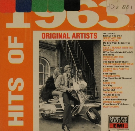 The hits of 1963