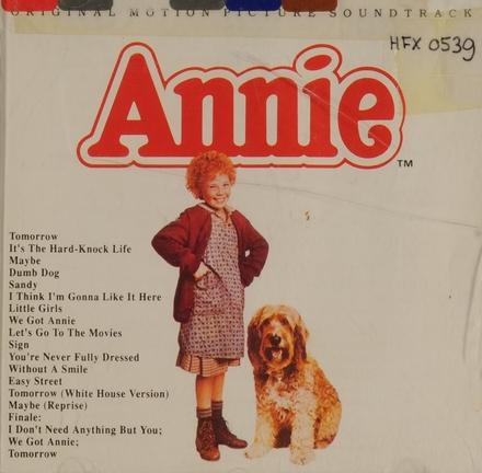 Annie : original motion picture soundtrack