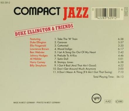Compact jazz - D.Ellington & friends