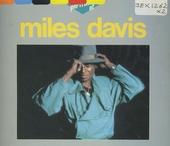 A portrait of Miles Davis