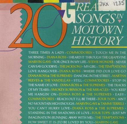 Greatest songs in motown history