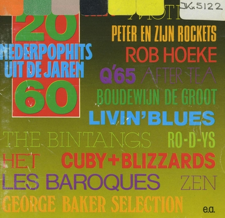20 Nederpophits uit de jaren '60. vol.2