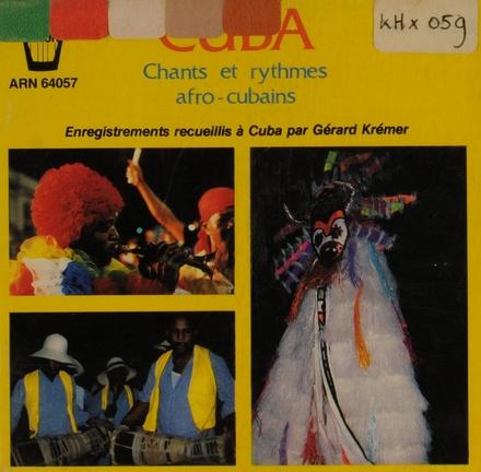Chants et rythmes afro-cubains