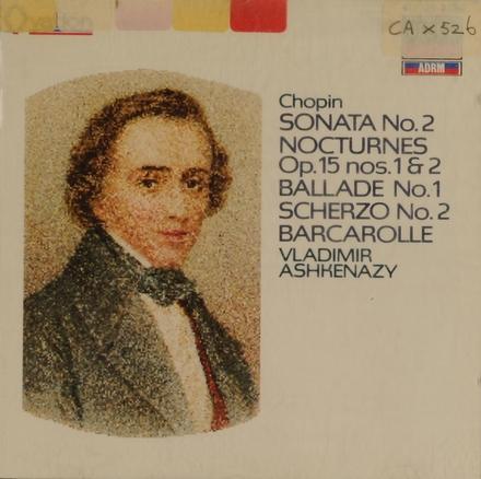 Sonata no.2, op.35