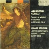 Sonate a violino e violone o cimbalo op. V : parte prima (Roma, 1700)