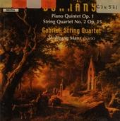 Quintet in c minor for piano, 2 violins, viola & cello op.1