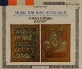 Music for holy week. Vol. II, In propotional rhythm