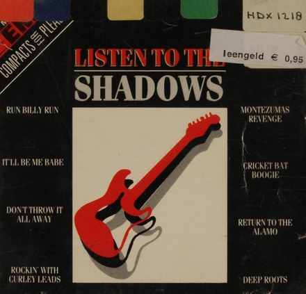 Listen to The Shadows
