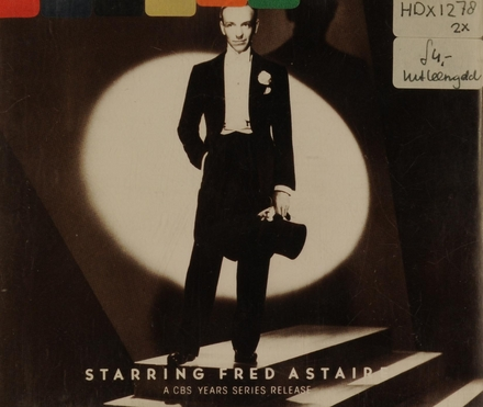 Starring f.astaire - a cbs...